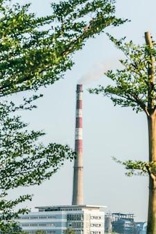 Fabbrica di lavorazione del gas
