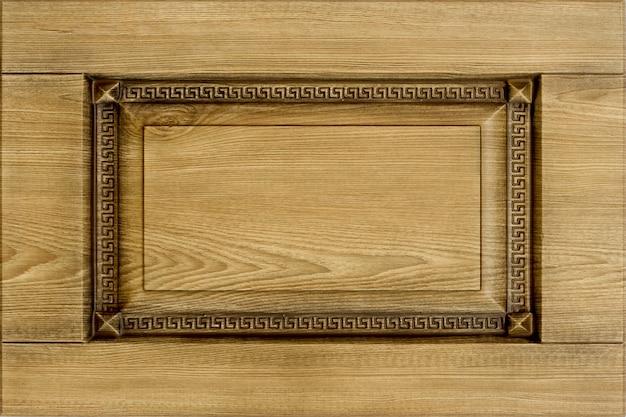 Facciata minimalista della mobilia di concetto o del fondo per la cucina, interno della mobilia