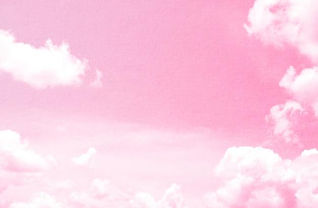 Fantasia e vintage nuvola dinamica e cielo con texture grunge per lo sfondo