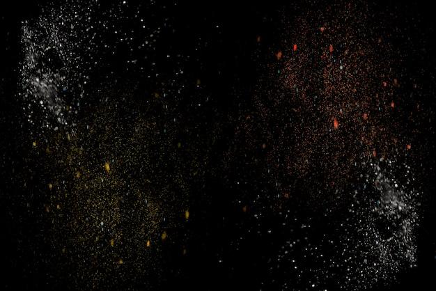 Fantastica carta da parati astratta. polvere di stelle