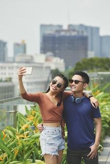 Fare selfie