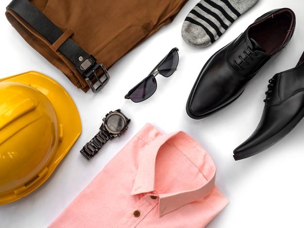 Fashion design creativo per set di abbigliamento casual da uomo