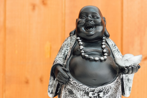 Fat laughing buddha, hotei god.