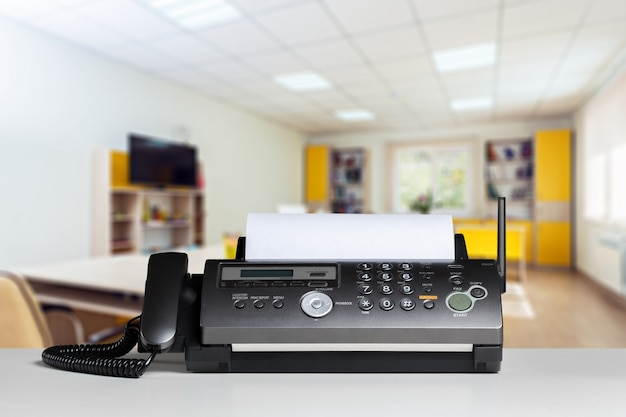 Fax in ufficio