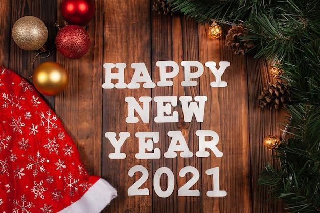Felice anno nuovo decorazioni
