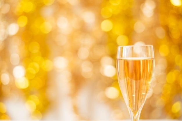Felice anno nuovo, oro bokeh