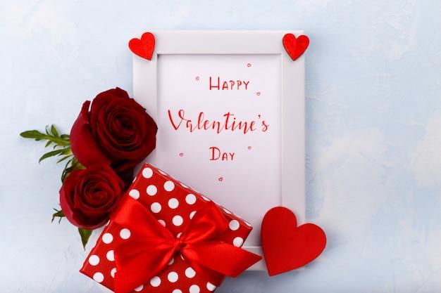 Felice carta di san valentino