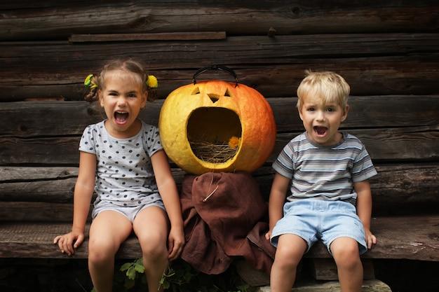 Felice divertente halloween