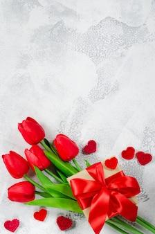 Felice giorno di san valentino sfondo. biglietto d'auguri