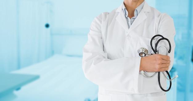 Felicità apparecchiature letto affare clinica
