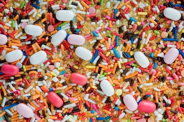 Felicità nella terra delle caramelle