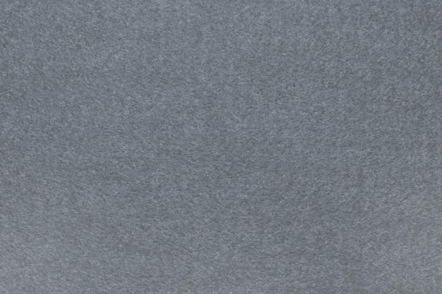 Feltro grigio, trama del tessuto