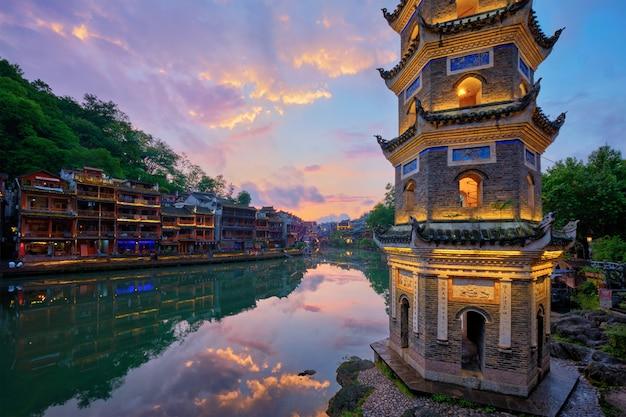 Feng huang ancient town phoenix ancient town, cina