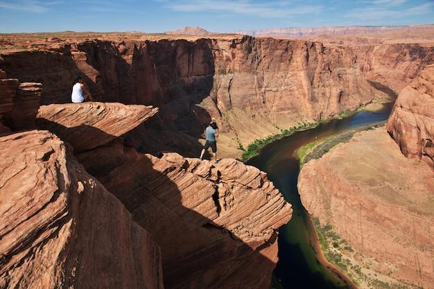 Ferro di cavallo colorado in arizona, stati uniti d'america