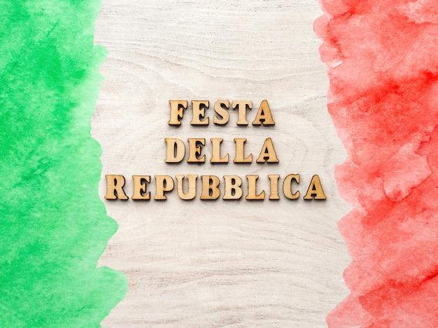 Festa nazionale italiana. festa della repubblica italiana