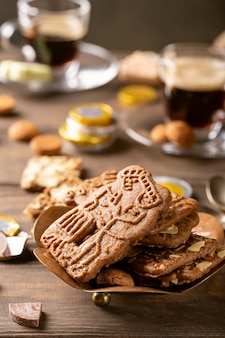 Festa olandese sinterklaas colazione festiva