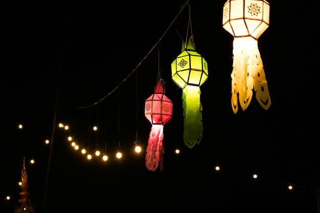 Festival di loy kra thong in tailandia