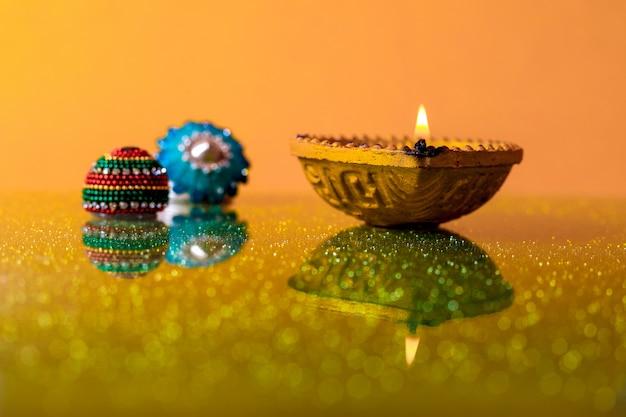 Festival indiano diwali, lampada diwali
