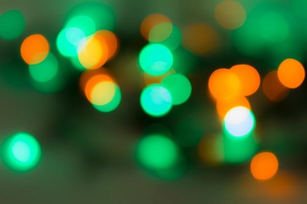 Festive luci sfocate sfocate