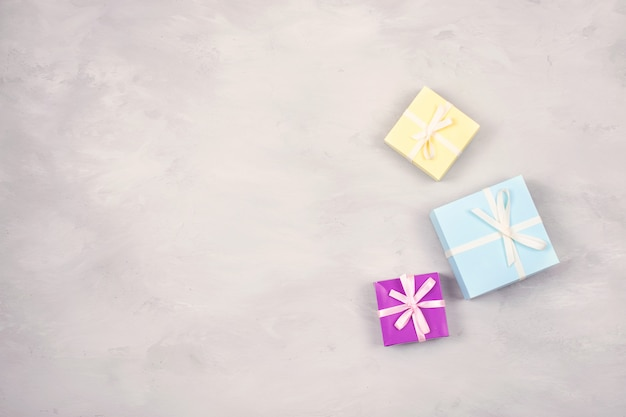 Festivo, compleanno, regalo sfondo pastello minimo