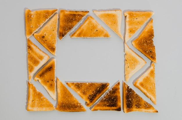 Fetta di pane tostato