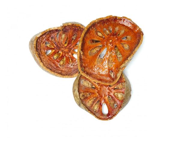 Fette di frutta secca bael