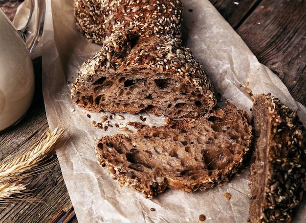 Fette di pane delizioso