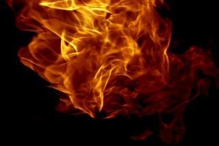 Fiamma accendere il fuoco