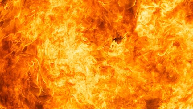 Fiammata di fuoco fiamma texture di sfondo