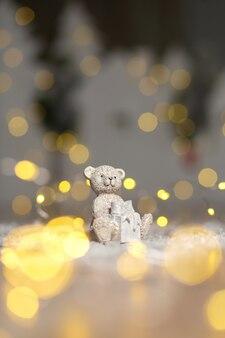 Figurine decorative di un tema di orsacchiotto