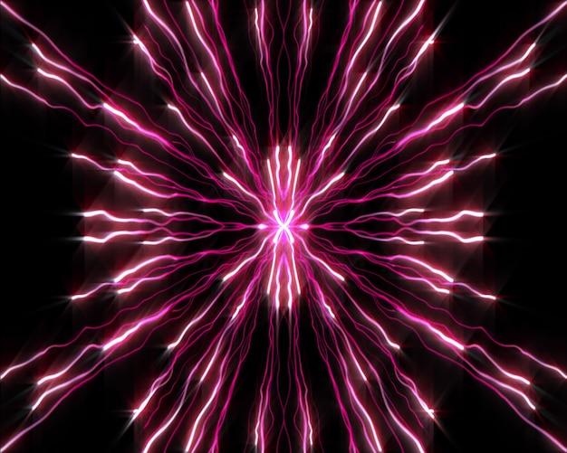 Fili di luci viola