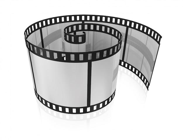 Film vuoto ritorto per una macchina fotografica
