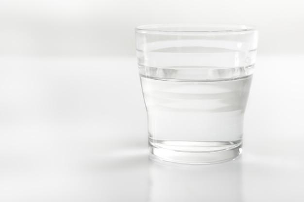 Fine del bicchiere di whater
