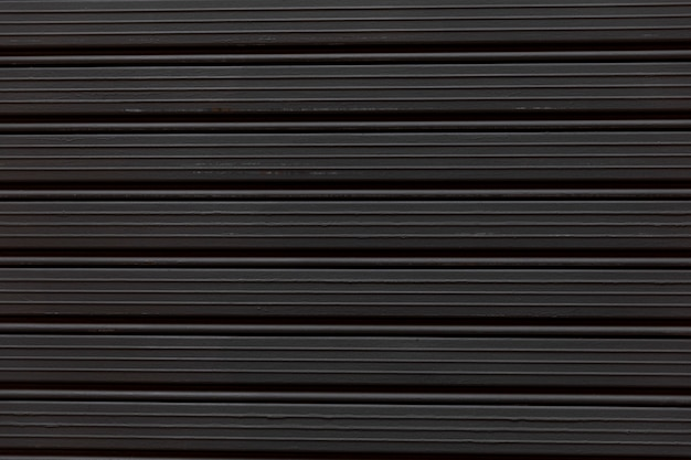 Fine del negozio di finestra chiusa nera su