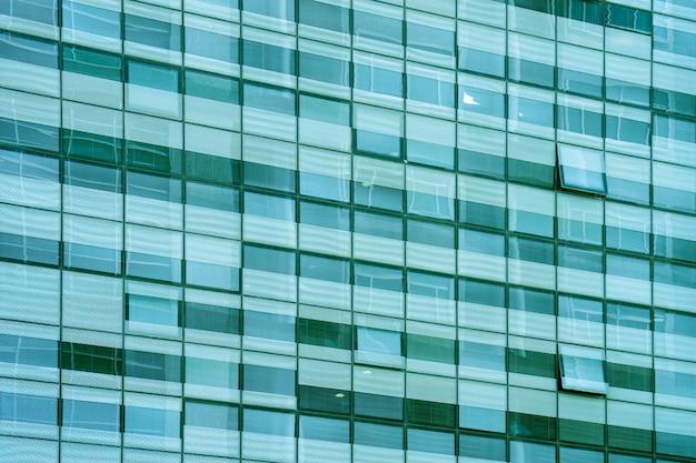 Fine della finestra della costruzione in su. struttura.