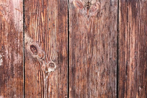 Fine di legno invecchiata di struttura in su