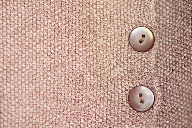 Fine di struttura del tessuto di lana in su