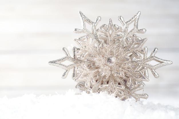 Fiocchi di neve. decorazione invernale