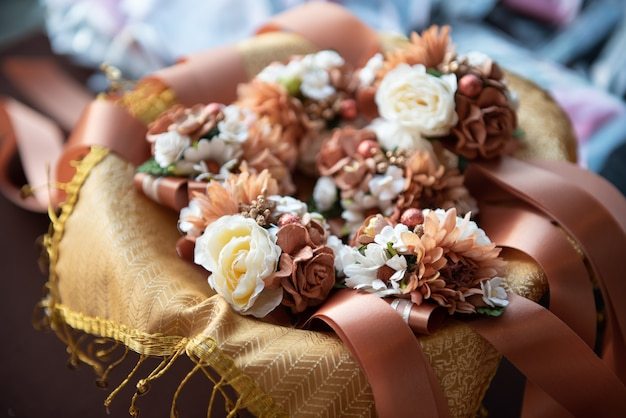 Fiore nella festa della cerimonia di nozze