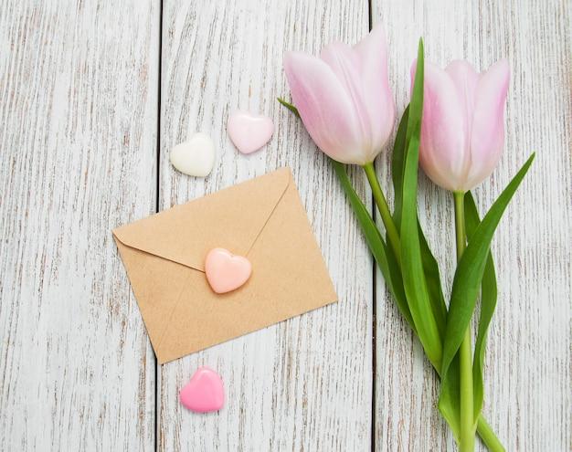 Fiori di tulipano di primavera