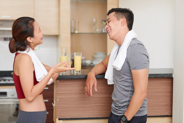 Flirtare i giovani in palestra