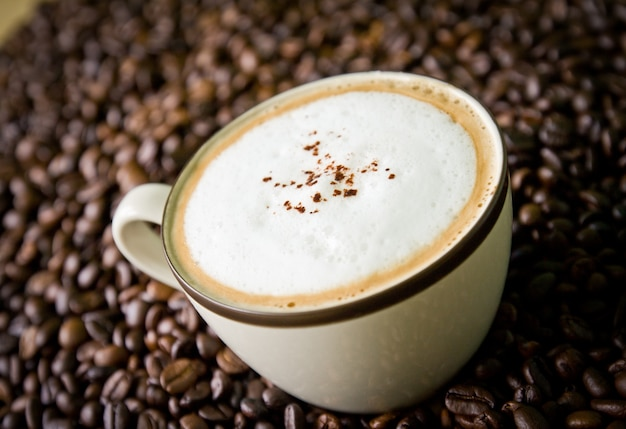 Foam nessuno bevanda caffè latte