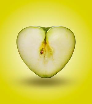 Focolare mela in verde