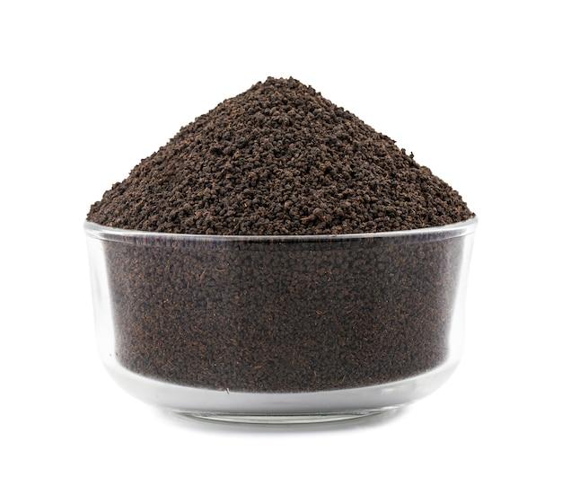 Foglie di tè allentate o secche aromatiche del tè nero