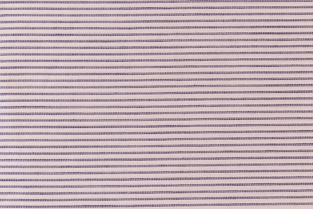 Fondo a strisce del tessuto di tela di struttura