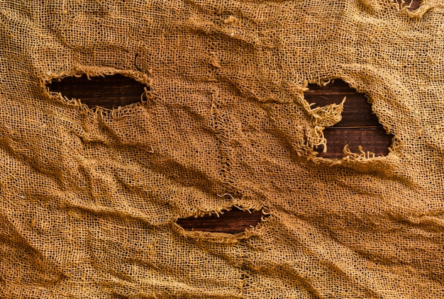 Fondo afflitto sporco di struttura del tessuto di halloween