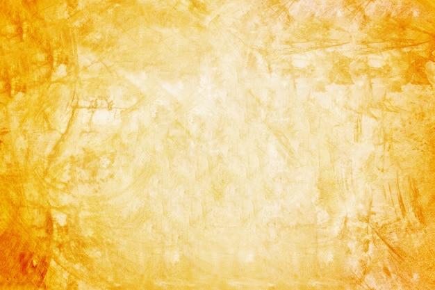 Fondo arancio della parete e dello showroom per il prodotto di presentazione