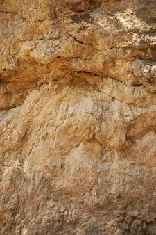 Fondo arancio della roccia di gaudi della struttura di struttura rossa della caverna barcellona