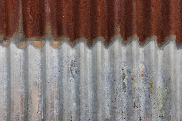 Fondo arrugginito del metallo, struttura di lerciume del metallo