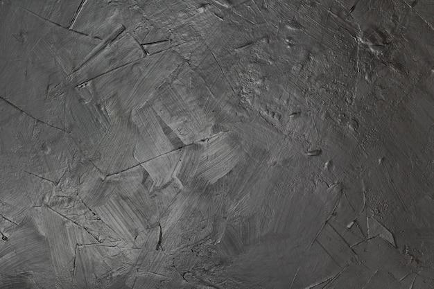 Fondo artistico di struttura della pittura nera